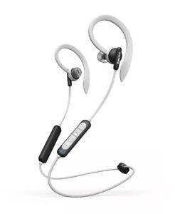Philips In-Ear Kopfhörer TAA4205 schwarz/weiß Wingtips Bluetooth Mikrofon IPX5