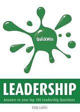 Quick Win Leadership, Larkin, Enda, Very Good, Paperback