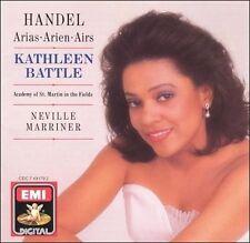 Handel: Arias Kathleen Battle   Audio CD   LIKE NEW  DB1568