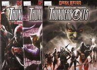 Thunderbolts Deadpool President Obama Set 128 129 130 Nm Marvel Comics Books