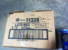 CASE OF 6, 70 WATT HIGH PRESSURE SODIUM LAMPS NIB GE LU70/MED  HPS