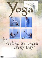 Yoga For Feeling Stronger Every Day (DVD, 2003) Brand New!!!