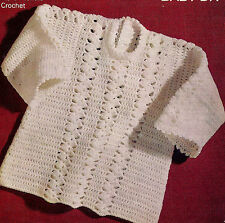 BABY CROCHET DRESS PATTERN 12/18 MONTHS D.K.  (220)