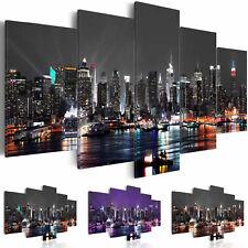 NEW YORK CIUDAD Cuadros lienzo XXL decoracion pared foto impresión d-A-0022-b-n