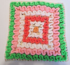 Decorated Colorful Handmade Knitted Cushion Cover