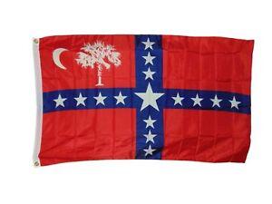South Carolina Sovereignty Flag Size 3 X 5 Feet 2 Grommets Polyester New