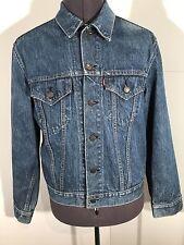 Levi's Strauss Men's Vintage Tracker Blue Denim Jacket Medium