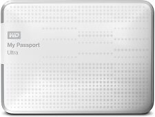 "WD My Passport Ultra 1tb 2,5"" USB 3.0 (WDBZFP 0010bwt) disco rigido esterno bianco"