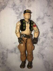 Vtg 1987 G.I. Joe Steam-Roller (v1) Mobile Command Center Driver New O Ring