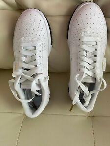 NIB Puma Cali Sneaker White & Black Women's 8.5M