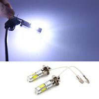 2pcs H3 LED White DC 12V Day Driving 7.5W Super Car Fog Light Bulb Lamp