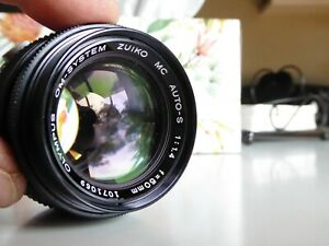 Olympus Auto-s 50mm f1.4 Manual Focus Lens very good condition