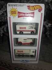 Hot Wheels Little Debbie three car package special edition.