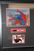 Marvel Spider-Man, Spidy Deluxe- Sericel Signed By Stan Lee Photo + Marker Used