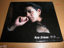 RYU SIWON si won PROMISE k-pop CD japanese release Love Letter Snow Sanctuary