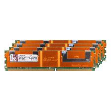 Für Kingston 16 GB 4X 4 GB Server RAM DDR2-667 MHz PC2-5300F ECC REG FB-DIMM
