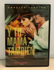 Y Tu Mama Tambien Unrated Dvd