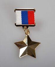 Russia URSS MEDAGLIE MEDAGLIA eroe della Federazione russa