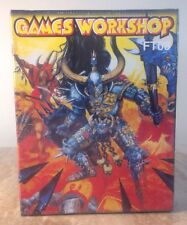 RARE Games Workshop Heroquest FT08 Chaos Warband Plastic Miniatures NEW SEALED