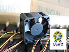 1x Quiet HP ProCurve 2824 Fan by SUNON 12dBA noise vs 32dBA on your Stock Fan