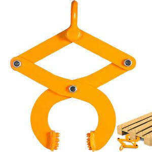 1T 2205LBS Pallet Puller Clamp Industrial Material Handling Pallet Grabber