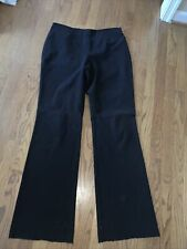 THE LIMITED Extra Tall Long Side Zip Straight Leg Trouser Pants Sz 12❤️tw11j46