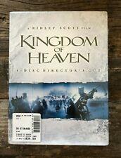 Kingdom of Heaven (DVD, 2006, 4-Disc Set, Directors Cut Widescreen) NEW & SEALED