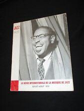 MAGAZINE JAZZ HOT N° 57  Juillet-Aout 1951 -  DIZZIE GILLESPIE SONNY GREER