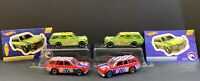 Hot Wheels '71 Datsun Bluebird 510 Mystery Wagons Green w/STICKERS & Red 4 Loose