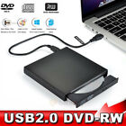 Slim Portable USB 2.0 Ultra External DVD-RW CD-RW Burner Writer Drive For PC MAC