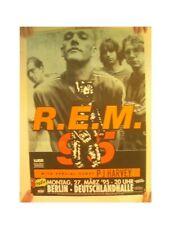 R.E.M. Poster R. E. M. R E M 1995 '95 Deutschlandhalle Rem Band Shot