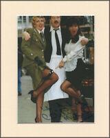 Vicki Michelle Allo Allo Yvette Original Signed Mounted 10x8 Autograph Photo COA