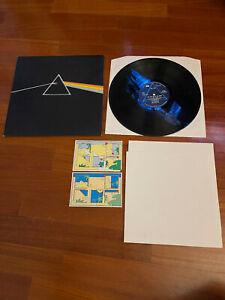 disco raro lp 33 giri Pink Floyd  Dark Side of the Moon poster stickers
