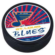 St. Louis Blues Reverse Retro Classic 3D Textured Souvenir Hockey Puck