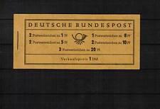 Bund Heuss MH Markenheftchen 4 Xu RLV II postfrisch **