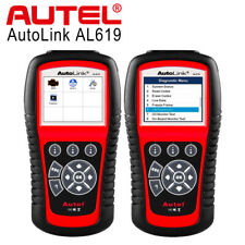 Autel Autolink AL619 Car Diagnostic Tool Scanner OBD2 Code Reader ABS Airbag