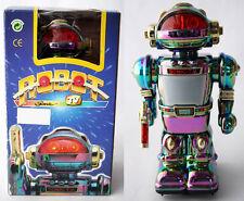 VERY RARE VINTAGE 80'S ROBOT SONIC TV HO KAI TOYS HK 706A B/O NEW MIB !