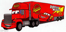 """10"""" DISNEY CARS TRACTOR TRUCK CHARACTER WALL STICKER GLOSSY BORDER CUT OUT"""