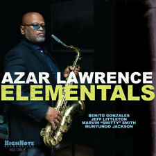 Azar Lawrence : Elementals CD (2018) ***NEW*** FREE Shipping, Save £s