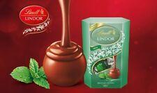 Lindt Lindor Mint Truffles Cornet 200g Limited Edition Milk Chocolate Gift Treat