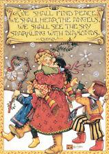 Chekov-PEACE ANGELS DIAMOND-Handcrafted Christmas Magnet-W/Mary Engelbreit art