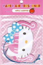 Sanrio Hello Kitty Paper Car Air Freshener : Apple Scented #4
