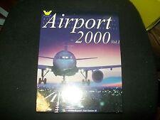 AIRPORT 2000 VOL. 1 FLIGHT SIMULATOR 98 ITALIANO BIG BOX NUOVO PC CONTOVENDITA
