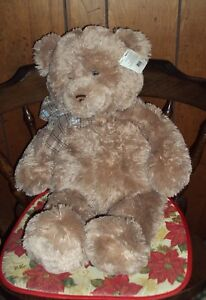 "HTF Retired 26"" Gotta Getta GUND Plush Bear Toy #15315 Rigby Sr Light Brown"