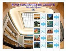 UNO GENF - 2015 GRUSSMARKEN BOGEN - BONS SOUVENIRS DE GENEVE 922-31  **