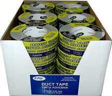 """24 rolls - Duct Tape SILVER - 1.89"""" (2"""") x 60 yards"""