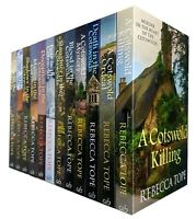 Rebecca Tope Collection Cotswold Mystery Series 12 Books Pack Set Costwolds New