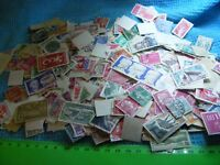 Lot of  off-paper  FRANCE stamps mixture....Exact stamps in photos...used.
