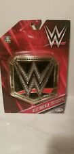 WWE World Heavyweight Champion Belt Buckle