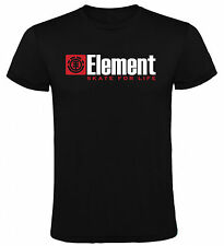 Camiseta Element skate for life Hombre varias tallas y colores
